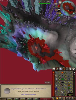 OSRS Blood Runecrafting - Fully Zoomed-Out